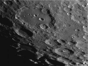 Il cratere Clavius, autore Norberto Milani