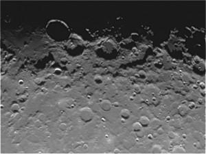 La Luna ripresa con web cam Neximage CE93709 Celestron  a fuoco diretto un Mak 127  Sky Watcher. Al momento della ripresa Seeing 4 scala Antoniadi.  Autore Norberto Milani.