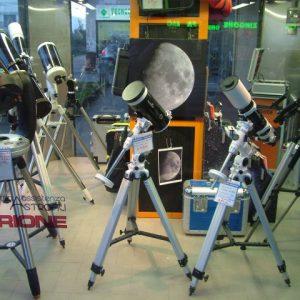 La shoowroom della Sezione Astronomia Fermarket.
