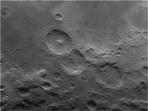 La luna ripresa da Norberto Milani, rifrattore Vixen NA140ss, telecamera Imaging Source Dmk31