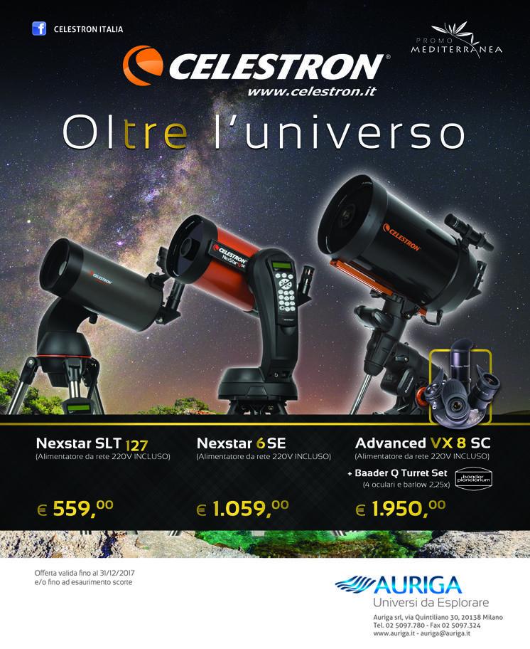 """Nuova promozione """"Celestron Mediterranea"""""""