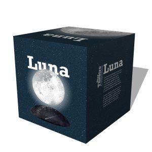 Lampada luna a levitazione magnetica