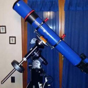 Telescopio Ziel rifrattore 150/1200 d'occasione (montatura non inclusa)